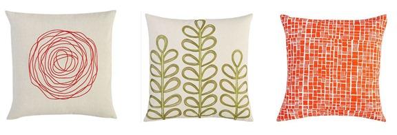 cb2 pillows