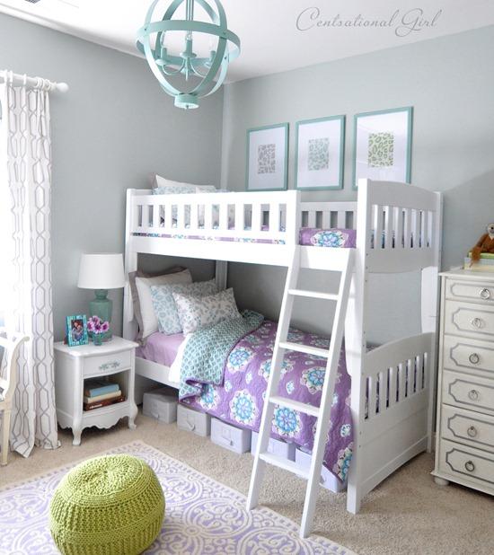 lavender blue girls room