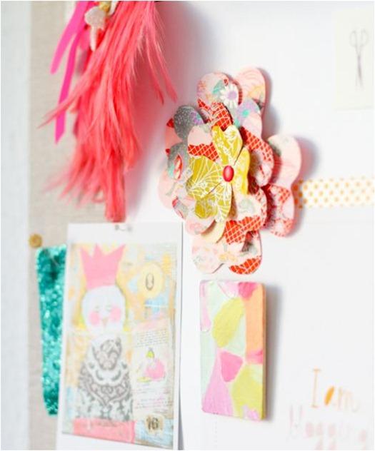 origami paper flowers decor8