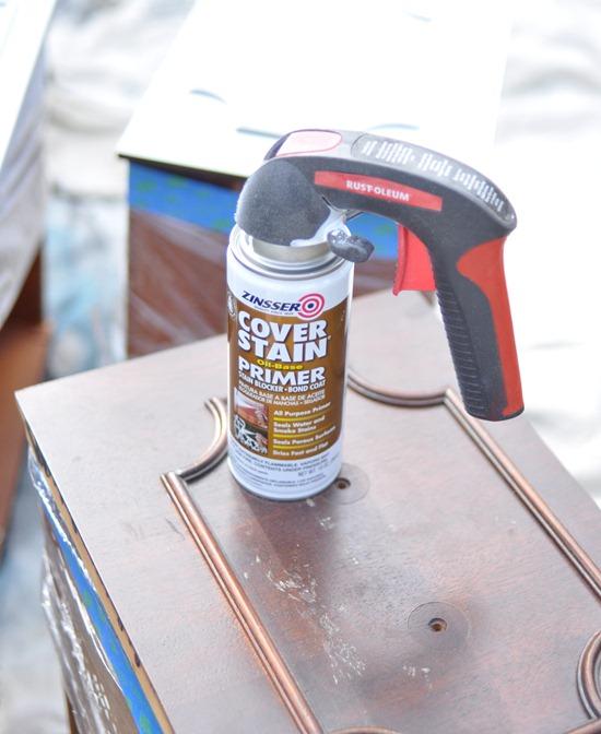 zinsser spray primer