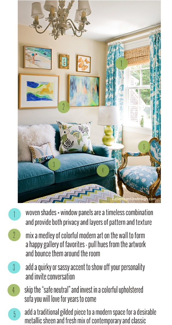 colorful sitting space takeaways