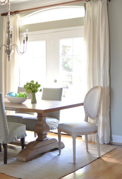 dining room bright