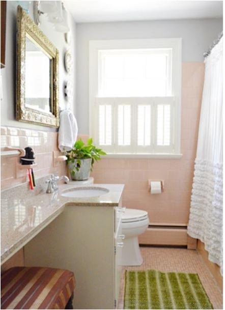 Good pink tile bathroom yhl