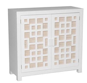 chest with textured panels
