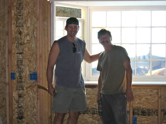 installing the kitchen window