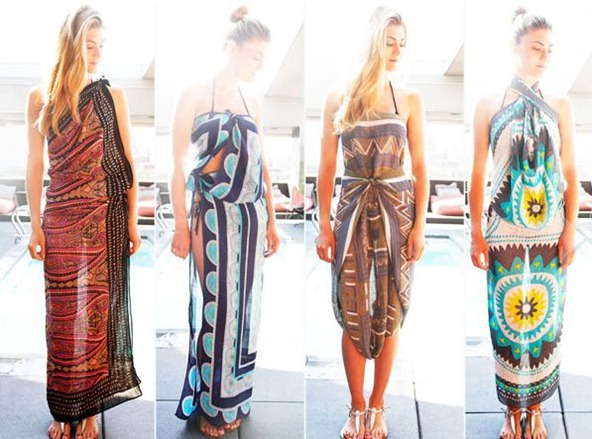 how to tie sarong