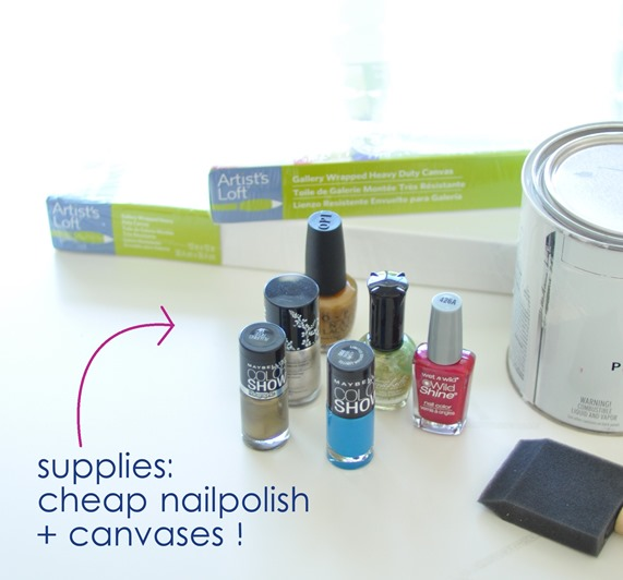 nailpolish art supplies