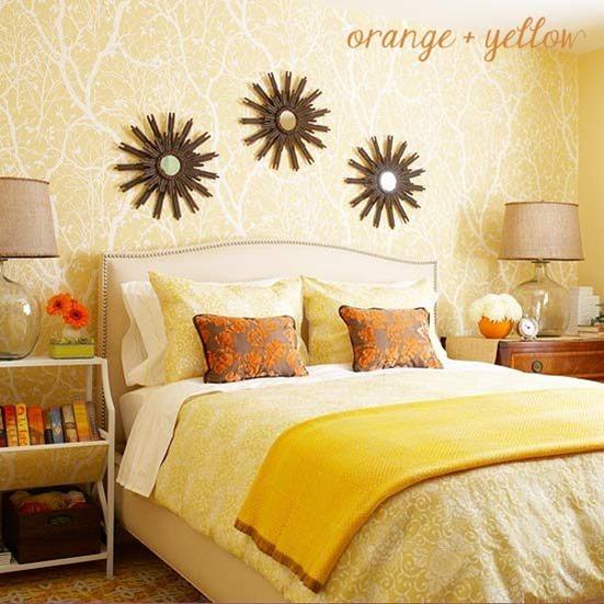 yellow wallpaper bhg