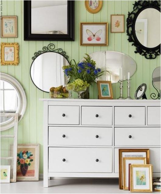celedon green walls ikea