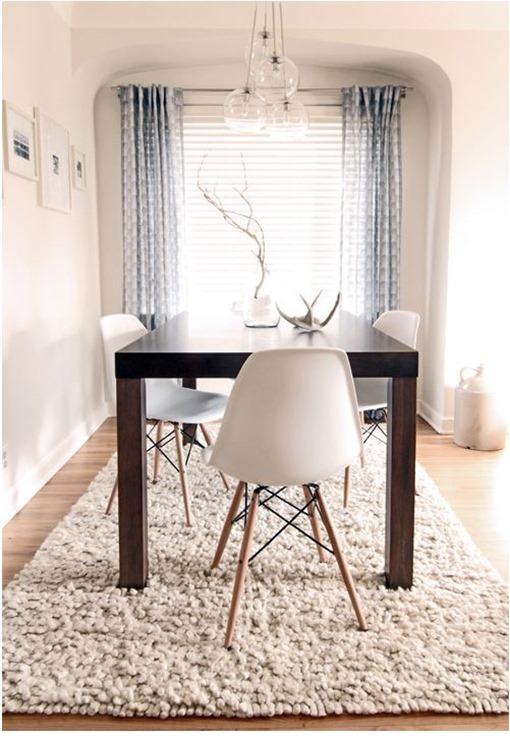 Dark Wood Table Light Floors