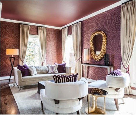 Eye For Design Grey Interiors Refined And Sophisticated: Decorating With… Purple!