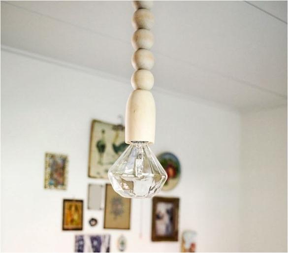 wood ball and diamond light gretchengretchen
