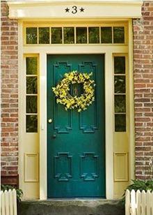 fall front doors