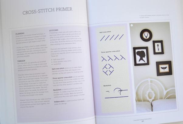 cross stitch primer
