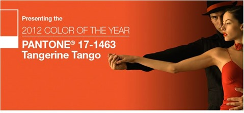 tangerine tango color of the year