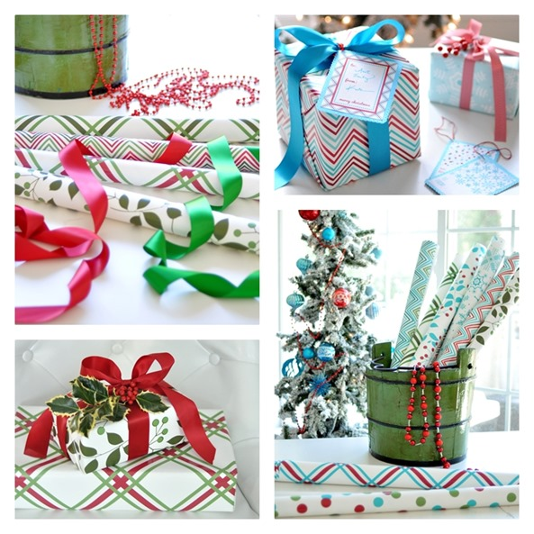 kate riley holiday gift wrap
