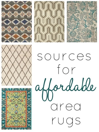 sources for affordable rugs