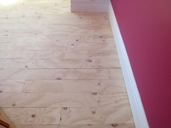 DIY Plywood Plank Floors Centsational Style - Faux wood floor plywood flooring