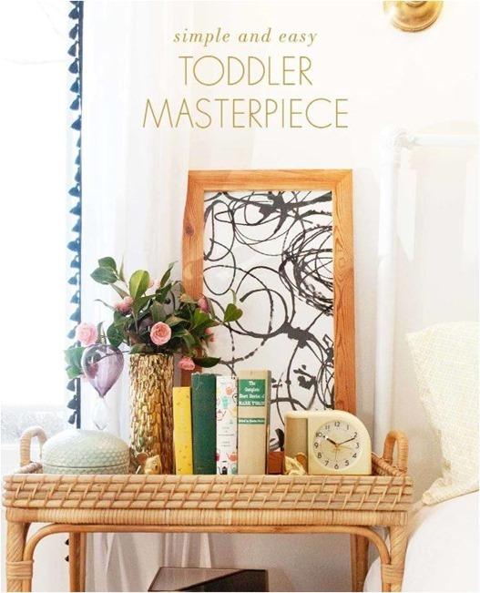 toddler abstract art laybabylay