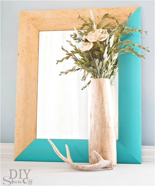 painted mirror diyshowoff