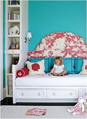 colorful girls rooms