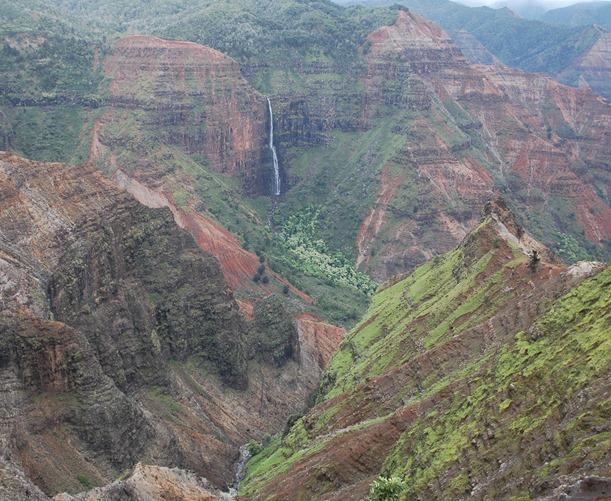 view of waimea canyon