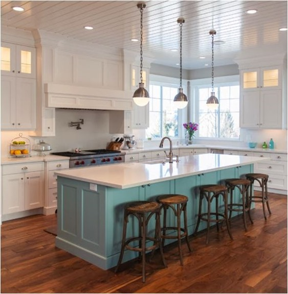 Kitchen Island With Raised Bar: Counter Vs. Bar Height