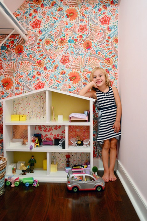 fabric covered wall