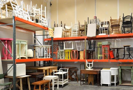 chair prop room
