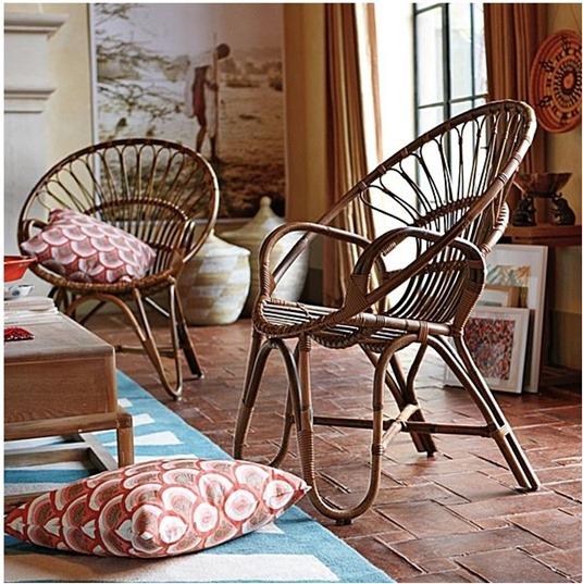 rattan chair serena and lily