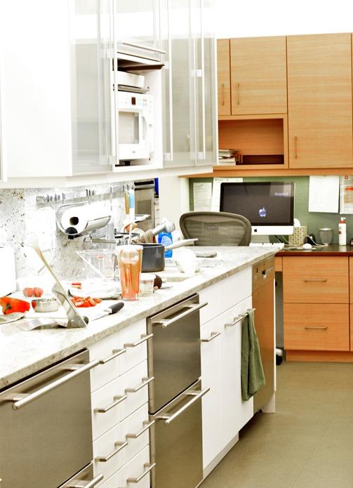 rows in test kitchen