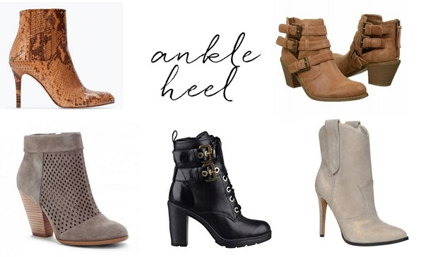 ankle heel boots