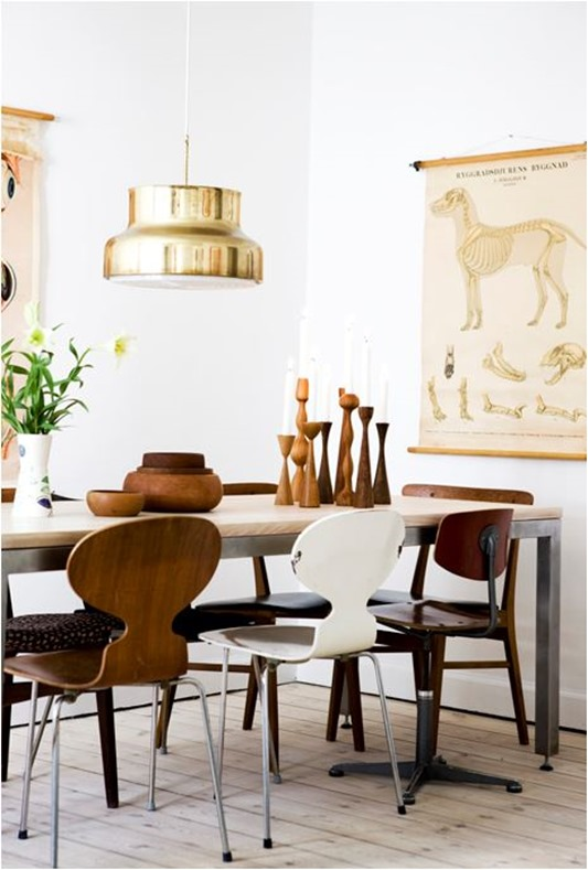 Fancy blogliv farmhouse table metal chairs
