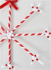 straw snowflake