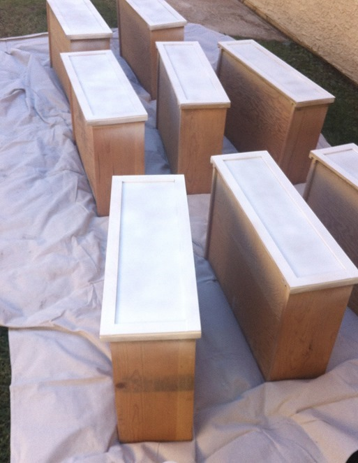 spray prime drawer fronts