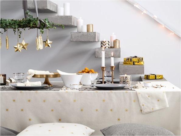 star holiday linens