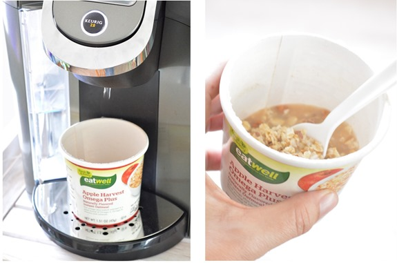 hot oatmeal keurig