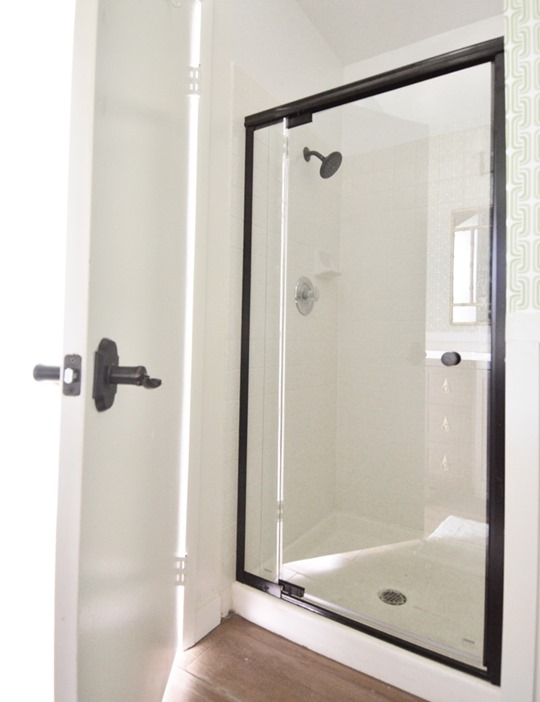 new delta shower door