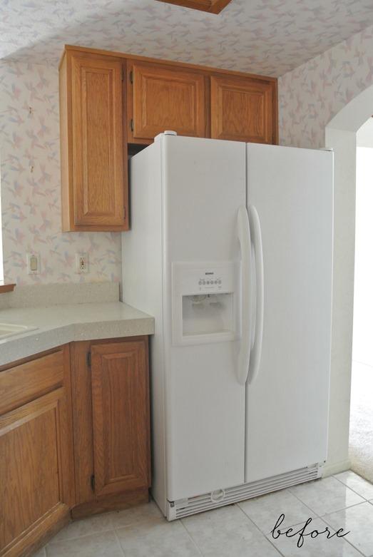 fridge before