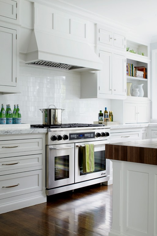 White Kitchen Extractor Hood kitchen range hood options | centsational style