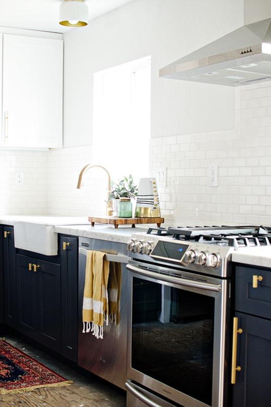 Big Comeback Brass Kitchen Hardware  Centsational Style