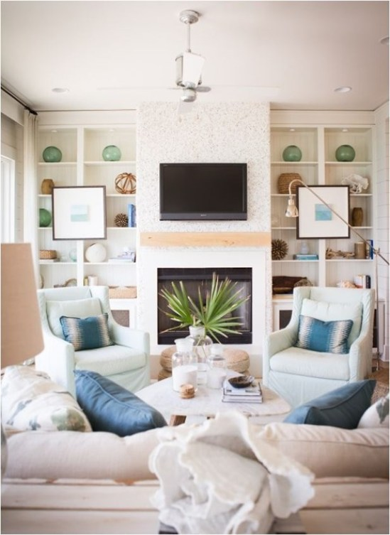 coastal living room