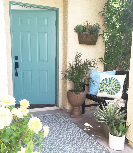 front porch dash and albert poppy leaf rug