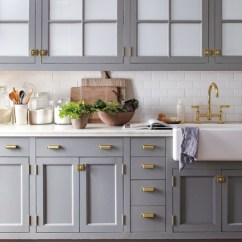 Brass Kitchen Hardware Upgrades Big Comeback Centsational Style Gray Cabinets