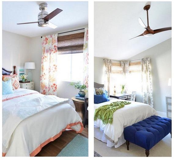 Ceiling Fans For Bedrooms. modern ceiling fan in bedroom Stay Cool  Modern Ceiling Fans Centsational Style