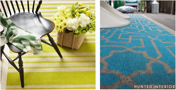 stenciled rugs