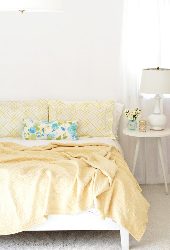 Diy Flanged Pillow Shams Centsational Style