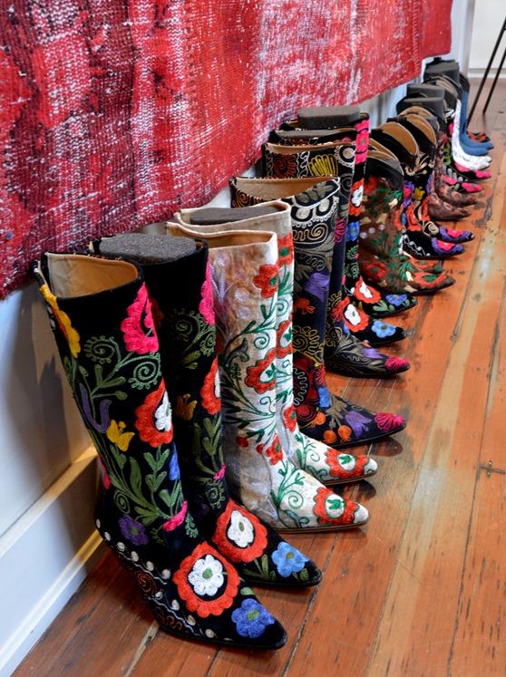 new suzani boots