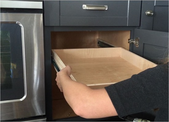 pull out drawer diy