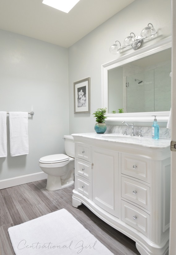 Bathroom Remodel Complete Centsational Style